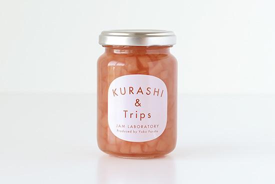 うきは市産 特別栽培の桃ジャム(嶺鳳)の商品写真