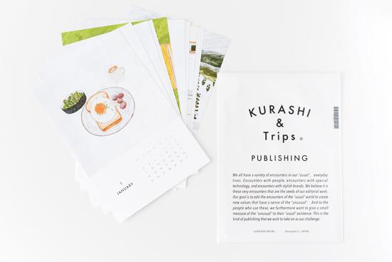 【完売】KURASHI&Trips PUBLISHING/カレンダー(2016)の商品写真