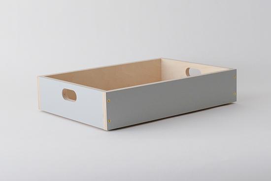LINDEN BOX/グレー(S)の商品写真