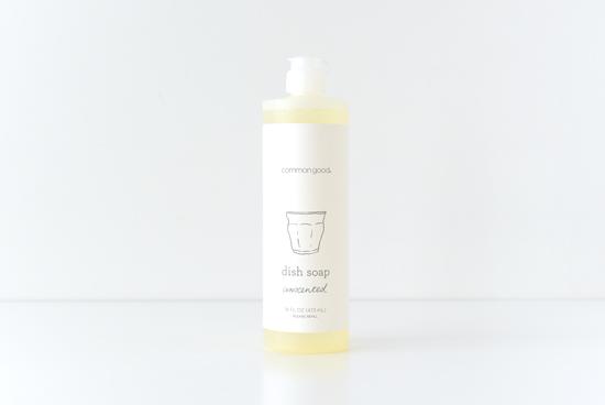 common good/ディッシュソープ(無香料)の商品写真
