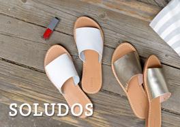 SOLUDOS/ソルドス/レザーサンダルの画像