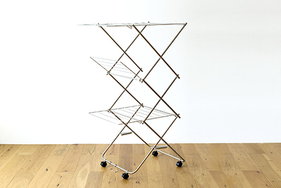 大木製作所/タワー型室内物干し(M)の商品写真