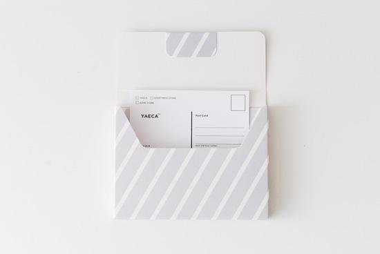 KURASHI&Trips PUBLISHING/収納ポケット/レター用(グレー)の商品写真