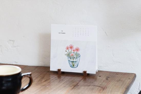 KURASHI&Trips PUBLISHING/カレンダー/卓上タイプ(2017)の商品写真