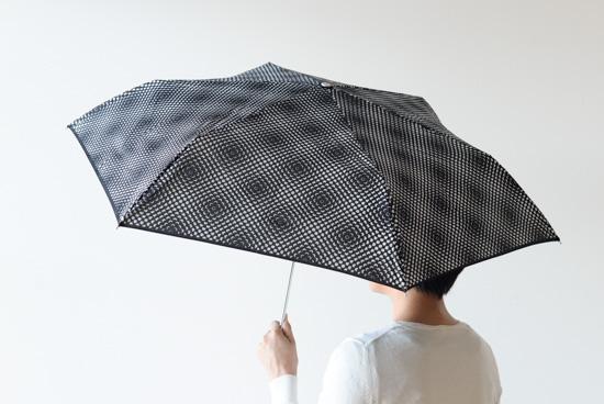 Lisbet Friis/折りたたみ傘/Flower Power mini(ブラック)の商品写真