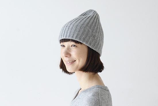 mature ha. /マチュアーハ/ニット帽(グレー)の商品写真