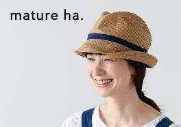 mature ha. /マチュアーハ/麦わら帽子の画像