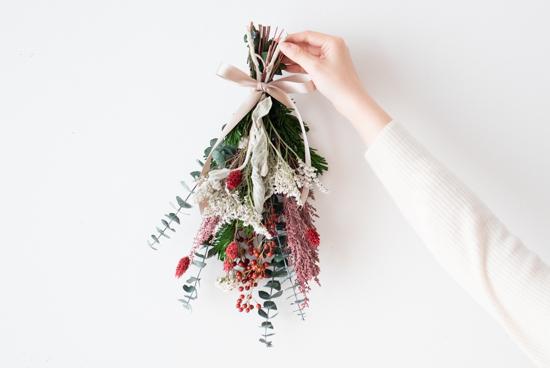 【今季終了】KURASHI&Trips PUBLISHING/クリスマスのスワッグキットの商品写真