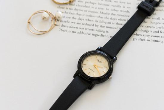 CASIO/腕時計/ラウンドフェイス/スモール(ゴールド)の商品写真