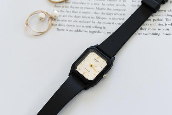 CASIO/腕時計/スクエアフェイス/スモール(シルバー)の商品写真