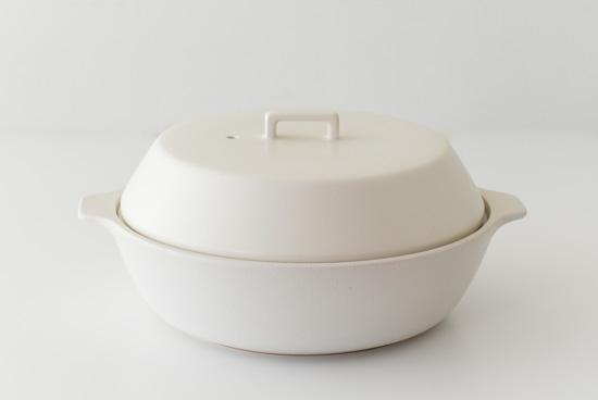 KINTO/KAKOMI/カコミ/IH対応土鍋 3〜4人用(ホワイト)の商品写真