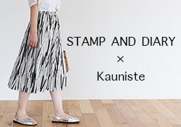 STAMP AND DIARY/スタンプ アンド ダイアリー/スカートの画像