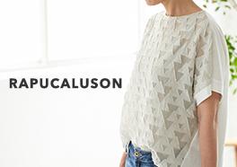 RAPUCALUSON/ラプカルソン/サンカク柄カットソーの画像