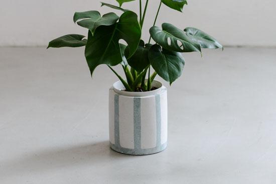 植木鉢/ライン(径18cm)の商品写真