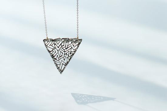 KAORU/ロングネックレス/triangle(トライアングル)の商品写真