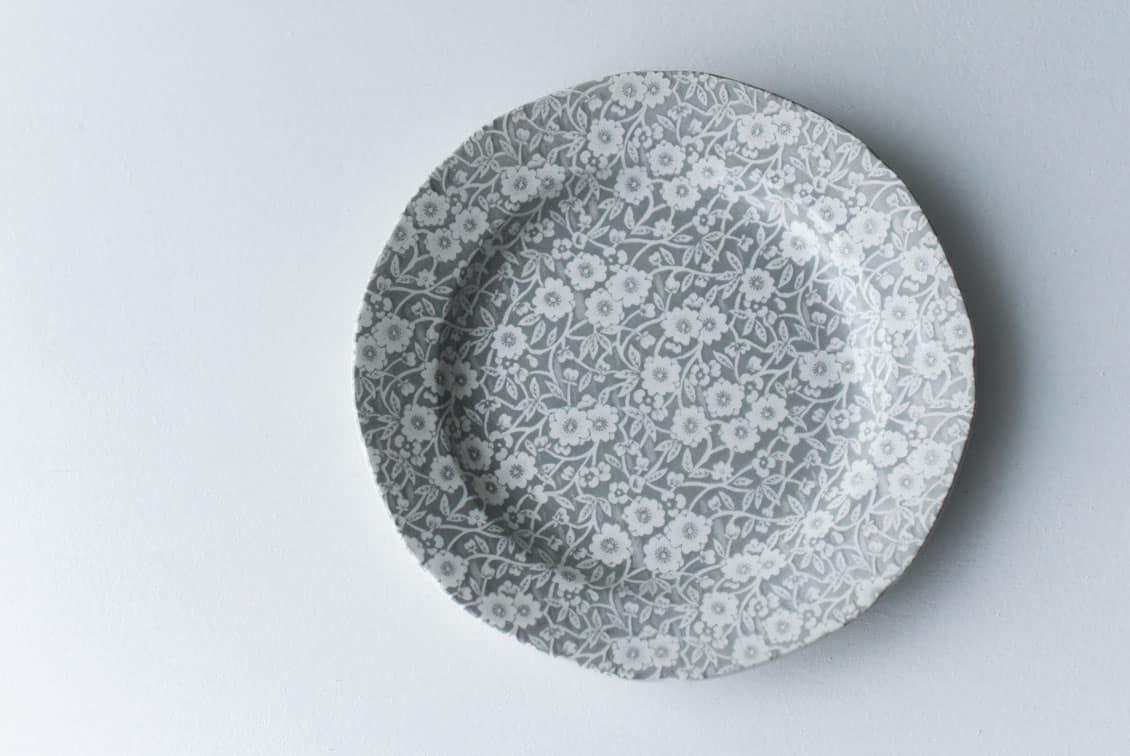 BURLEIGH/CALICO/キャリコ/プレート 21.5cm(グレー)の商品写真