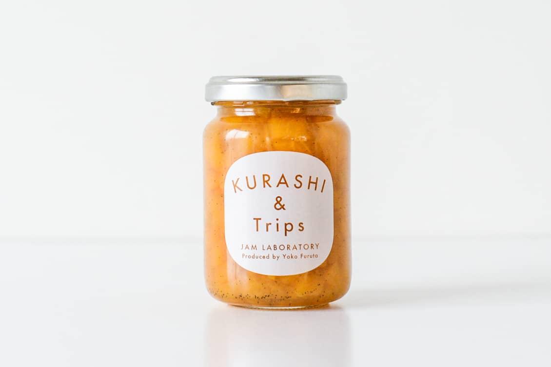 黄桃ジャム バニラ風味の商品写真