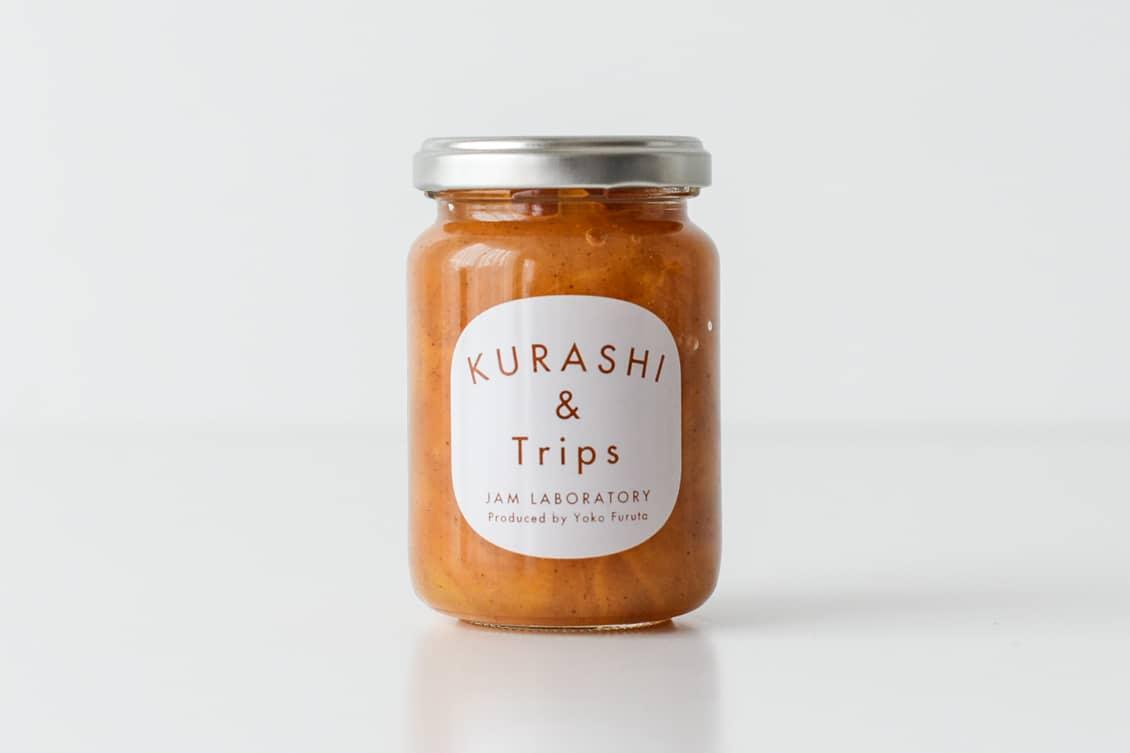 【お一人様1個まで】柿ジャム シナモン風味の商品写真
