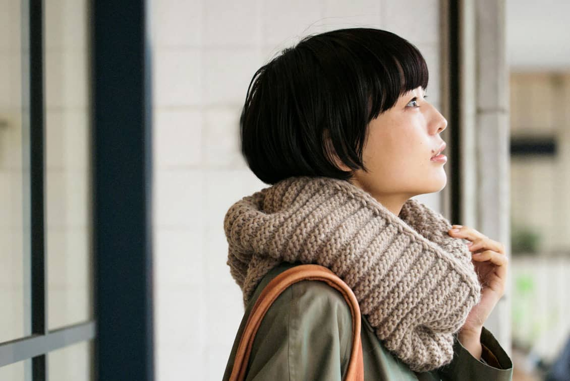 【今季終了】m.m Orchestra/スヌード(ベージュ)の商品写真