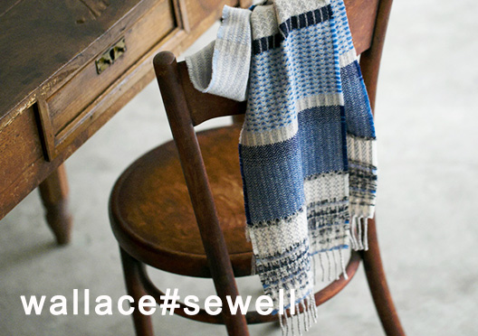wallace#sewell / マフラーの画像