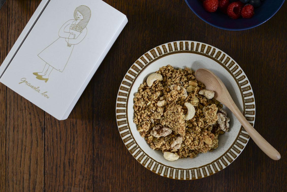 「ふわりとした甘さとごろごろ食感の特別なおやつ」メープルナッツグラノーラの商品写真