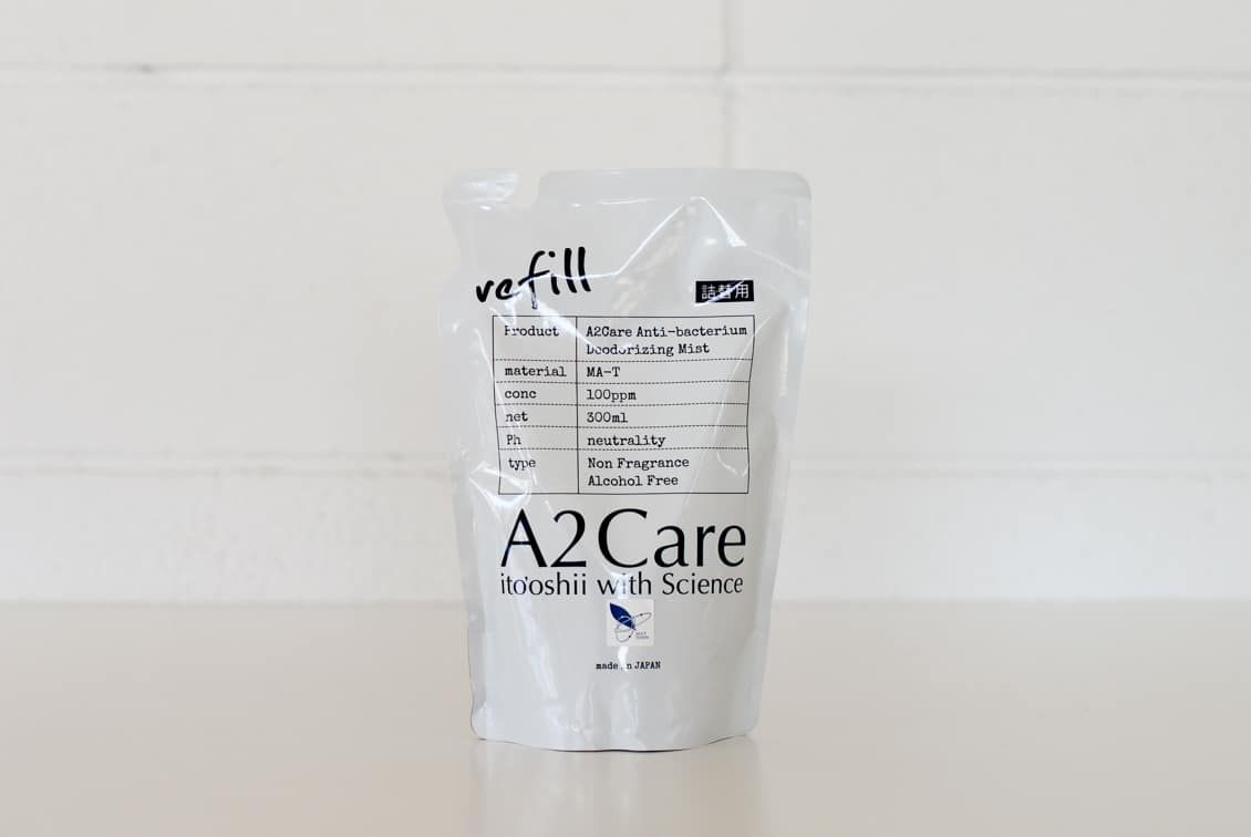 A2 Care/除菌・消臭剤/スプレータイプ(詰め替え用)の商品写真