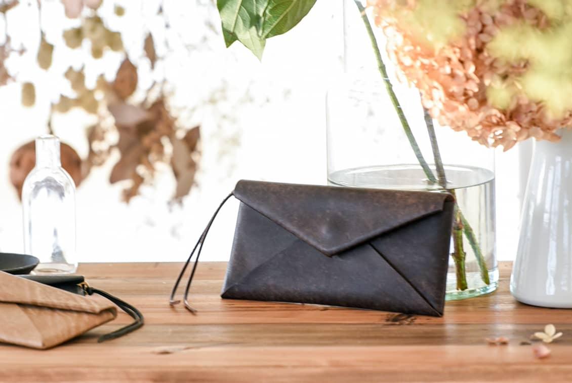 Dono/ドーノ/長財布(チョコ)の商品写真