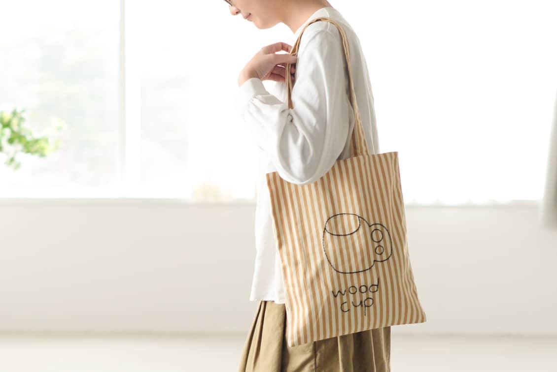 【当店限定】pot and tea/ポットアンドティー/トートバッグ(ククサ)の商品写真