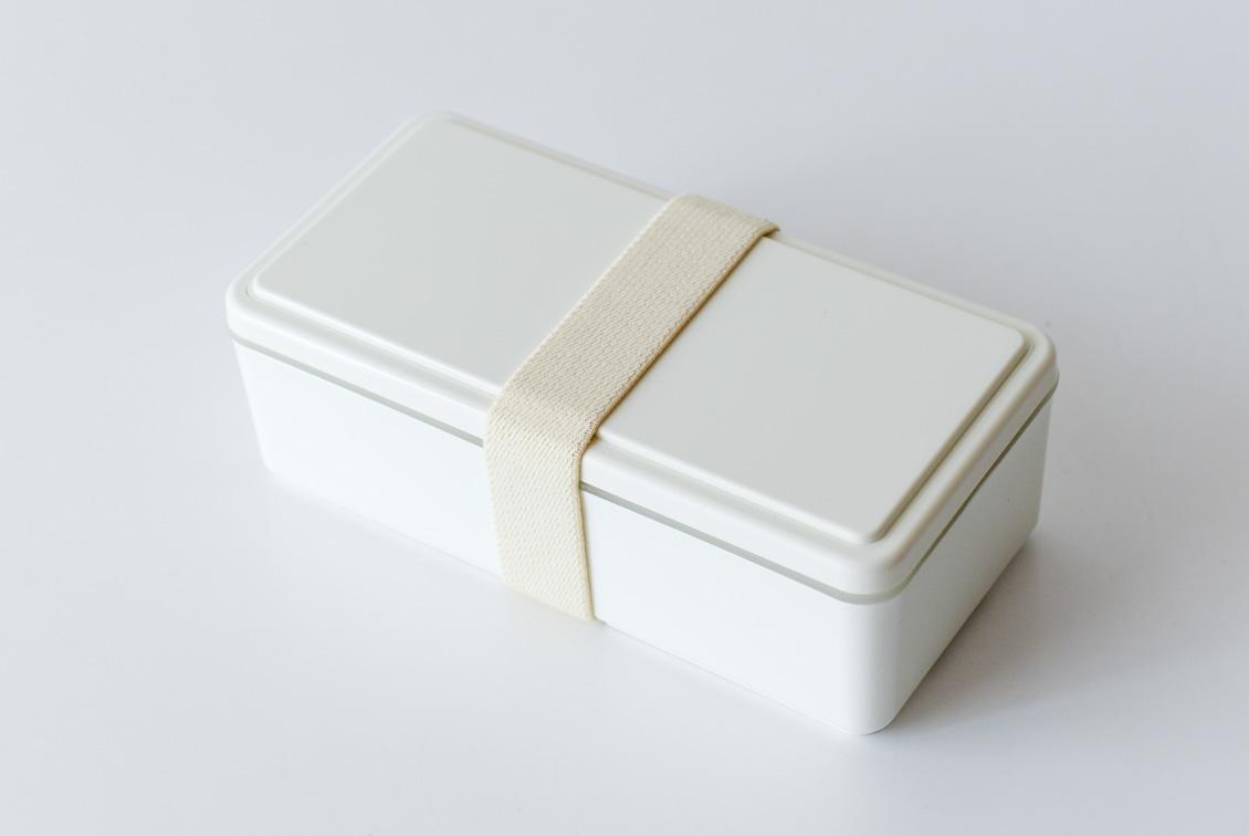 フタが保冷剤になるランチボックス/500ml/ホワイトの商品写真