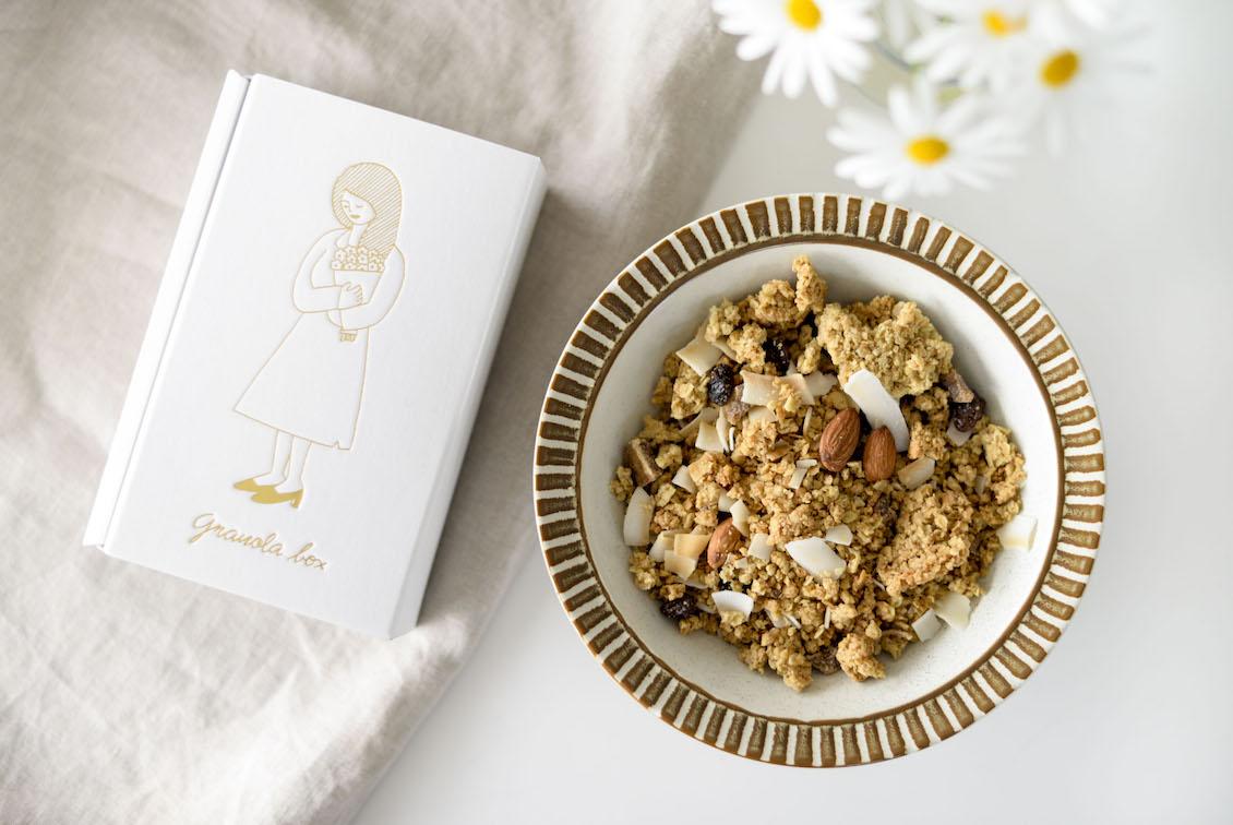 「カリッと香ばしい、しっとりした甘さの特別なおやつ」いちじくとアーモンドのグラノーラの商品写真