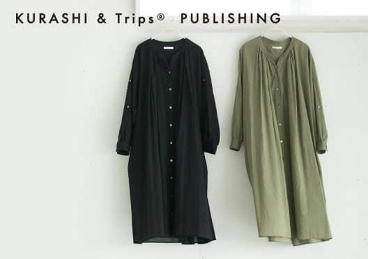 KURASHI&Trips PUBLISHING/3WAY後ろ下がりワンピースの画像