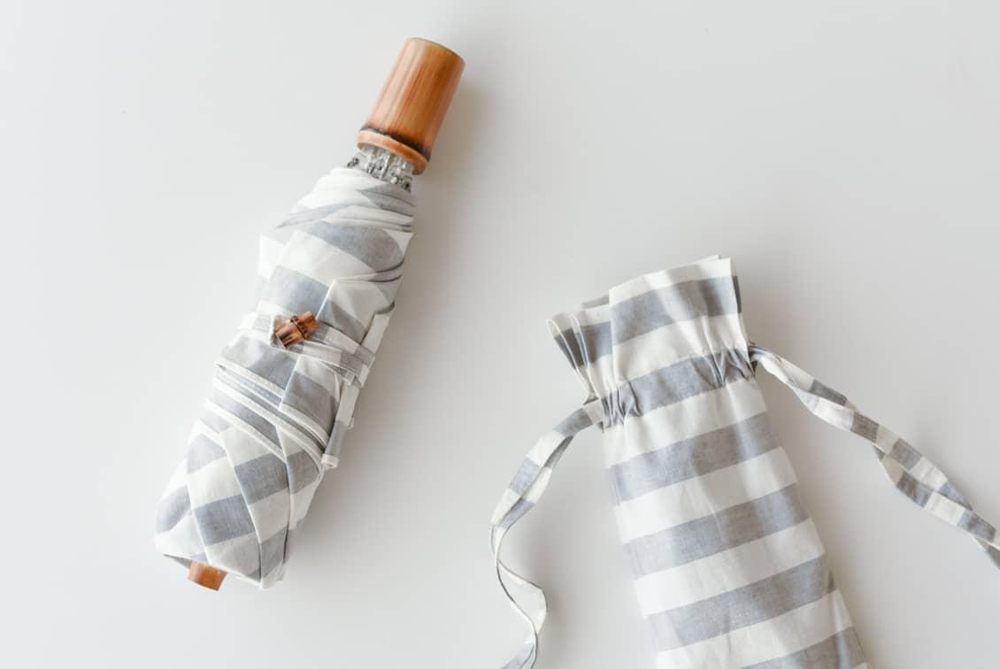 【次回4月ごろ入荷予定】Encachette/アンキャシェット/日傘(折りたたみ)の商品写真