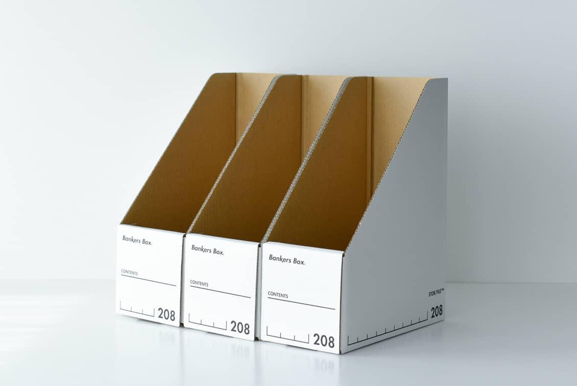 Fellowes/BankersBox/マガジンファイル(3個セット)の商品写真