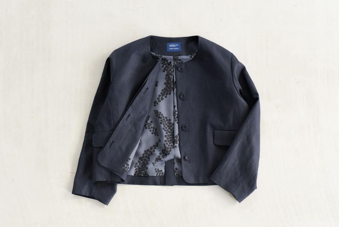 【次回1月下旬頃入荷予定】フリーサイズ/フォーマルワンピースに合うジャケット/atelier naruse×KURASHI&Trips PUBLISHINGの商品写真