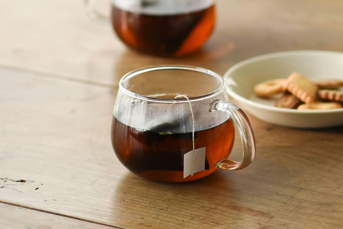 EN TEA/「味わいあたたか」生姜薪火晩茶(ティーバッグ7個入り)の商品写真