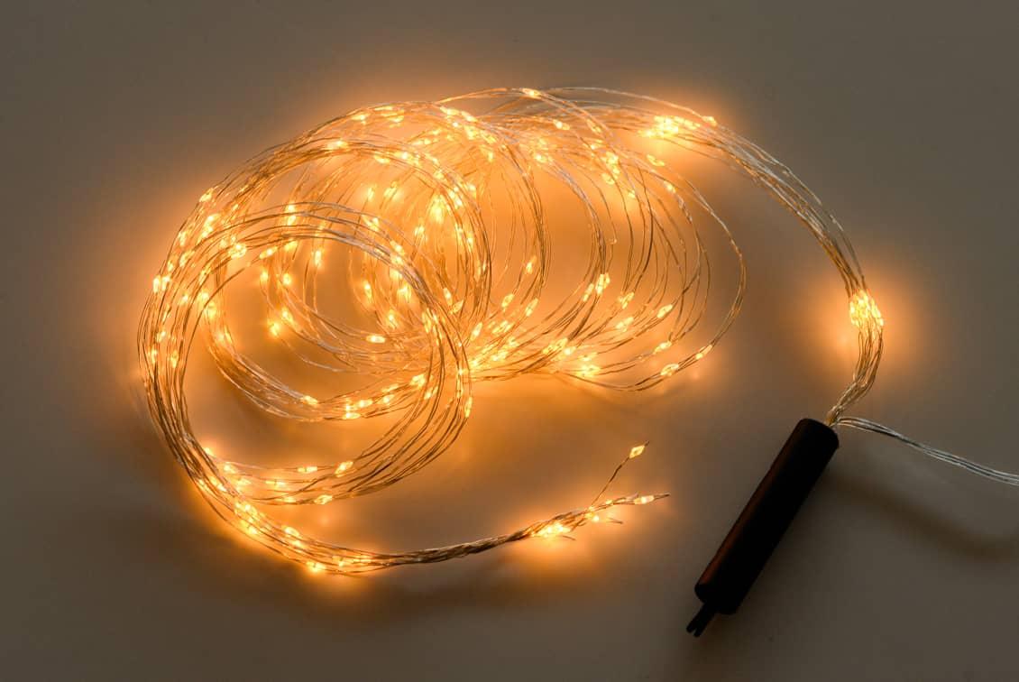 星粒のようなLEDデコレーションライトの商品写真