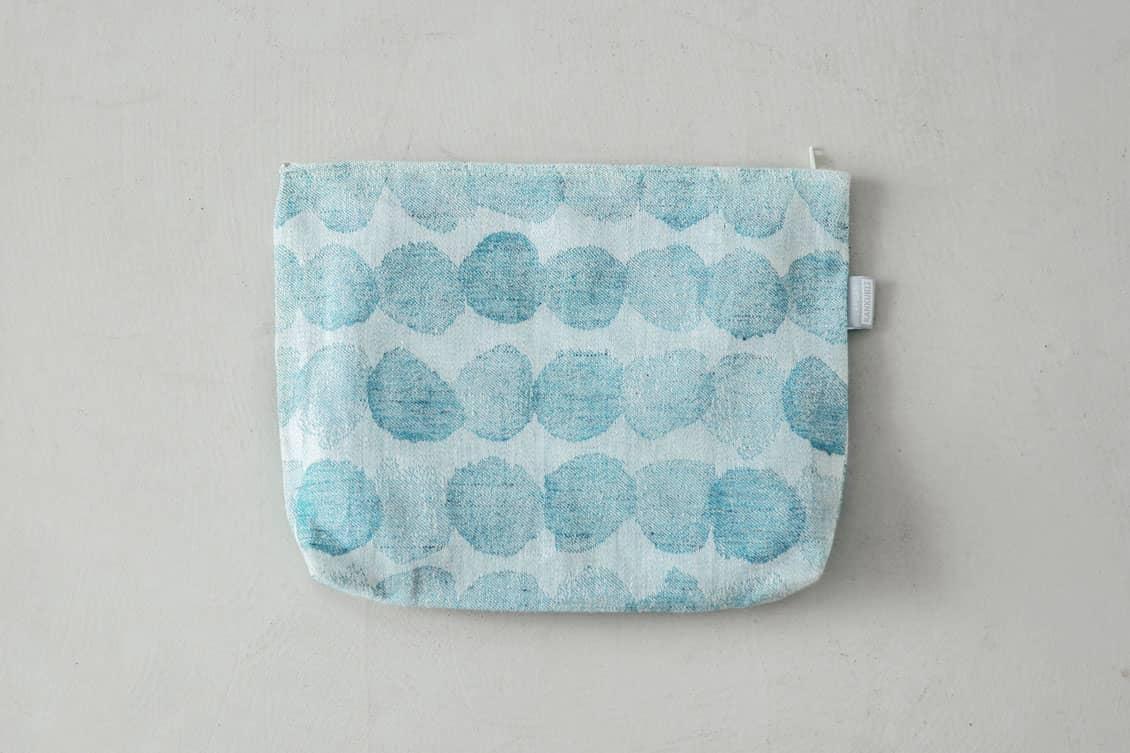 LAPUAN KANKURIT/ラプアン・カンクリ/SADEKUURO(サデクーロ)/ビッグポーチ/ブルーの商品写真
