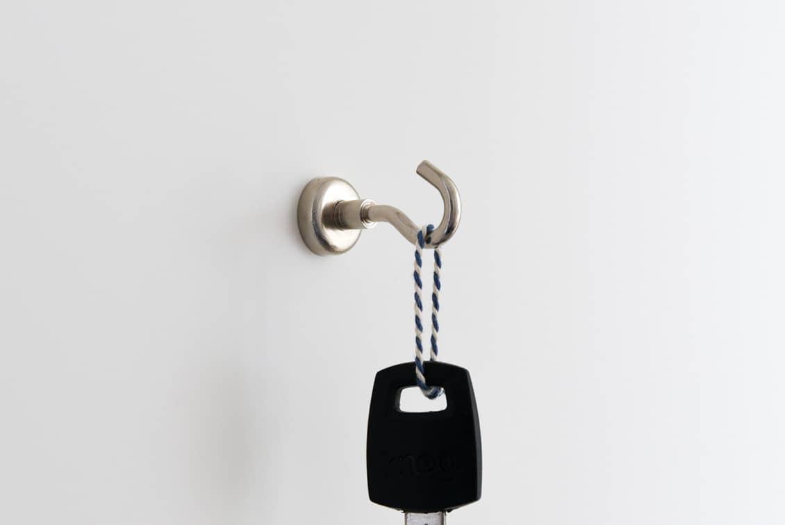 マグネットフック/強力ネオジウム磁石(最大耐荷重5.5kg)の商品写真