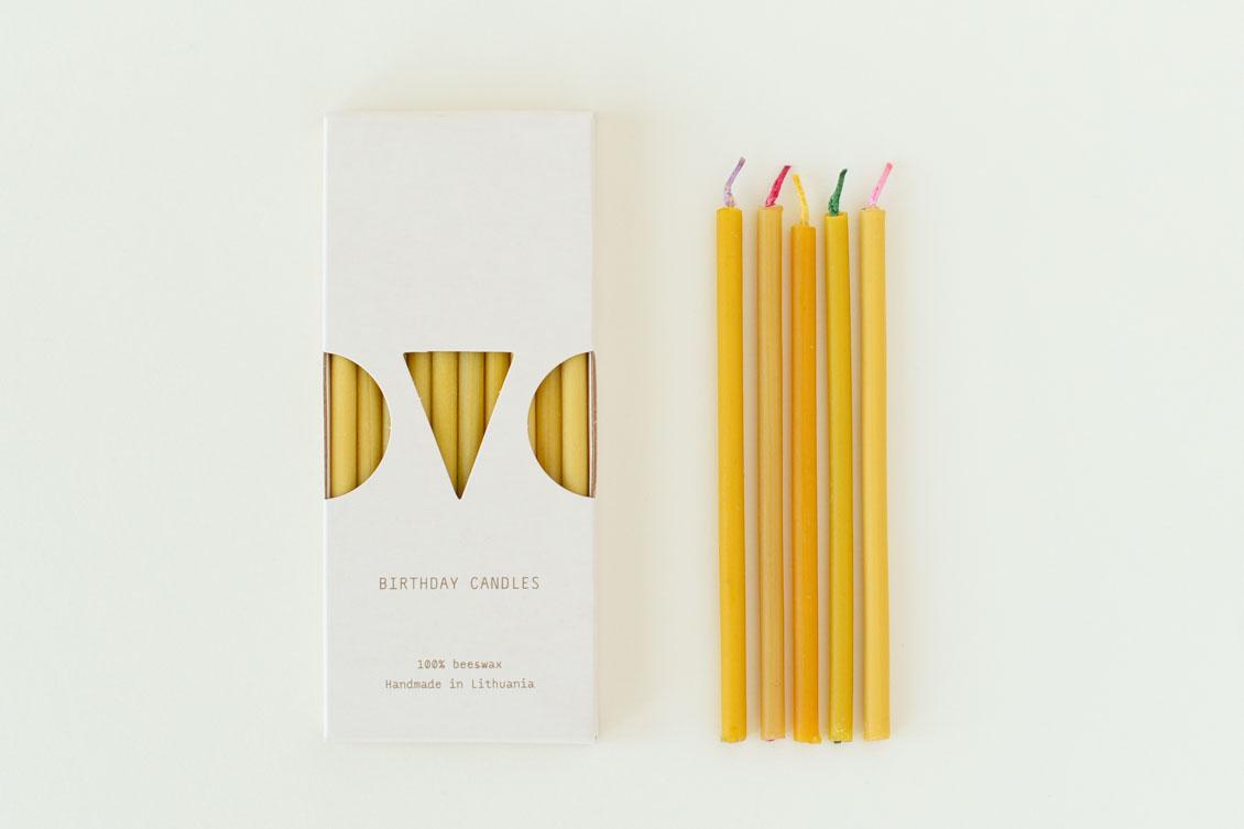 OVO Things/リトアニアの蜜ろうキャンドル(10本入り)の商品写真
