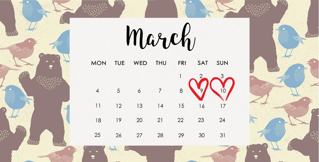 仙台のお出かけ情報 3月9日〜10日