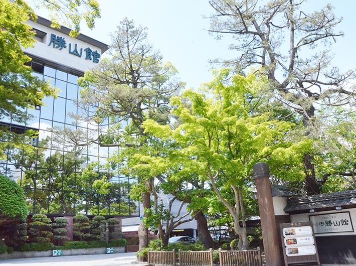大正・昭和の時代から仙台の社交場となっていたという迎賓館「仙台勝山館」