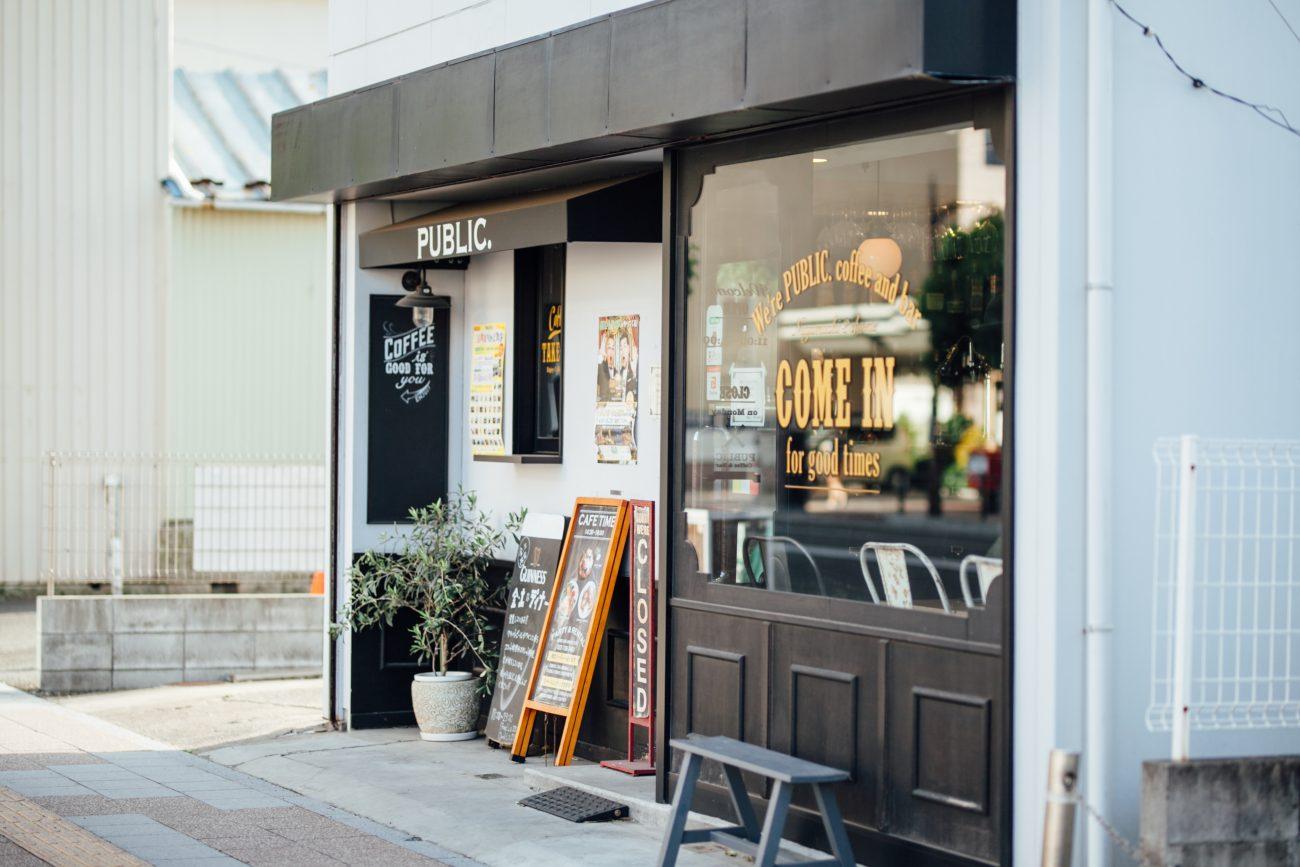 長町駅から歩いて約10分、長町商店街に佇むカフェ