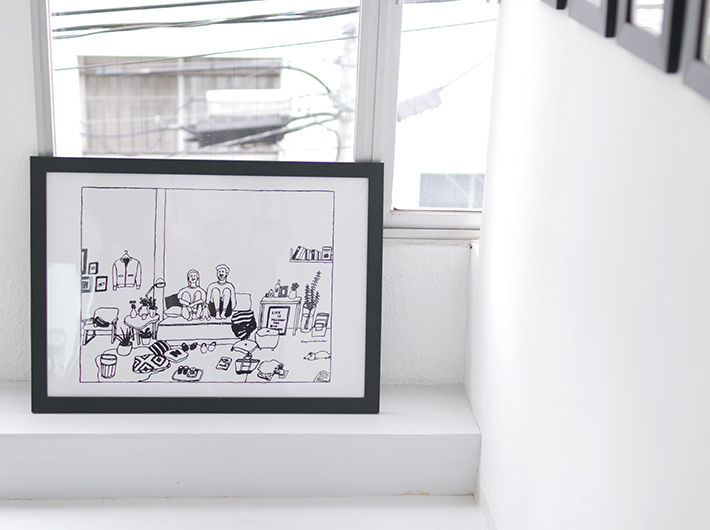 KURASHITOスタッフ間で人気があったイラスト