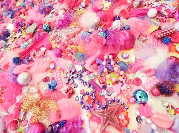 きゃりーぱみゅぱみゅの美術演出もされている増田セバスチャンの作品