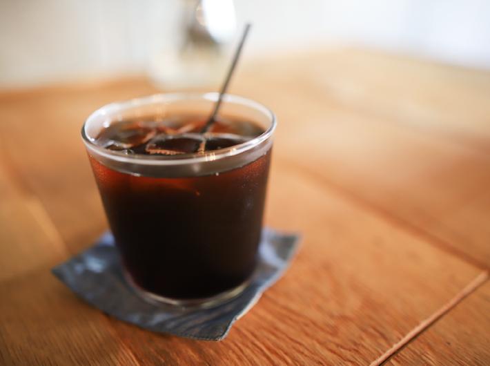 アイスコーヒー 550円br /テイクアウトはドリンク50円引き