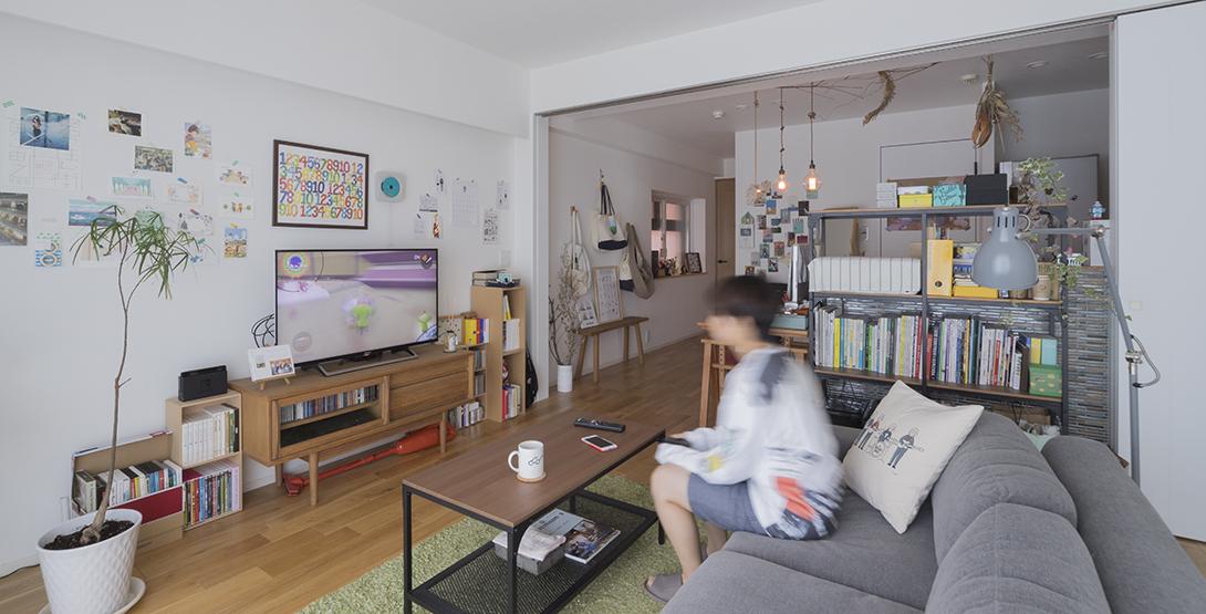 【住まう仙台】3年かけてコツコツと。60平米・1LDKのリノベーション賃貸で広々ひとり暮らし(仙台市・青葉区)