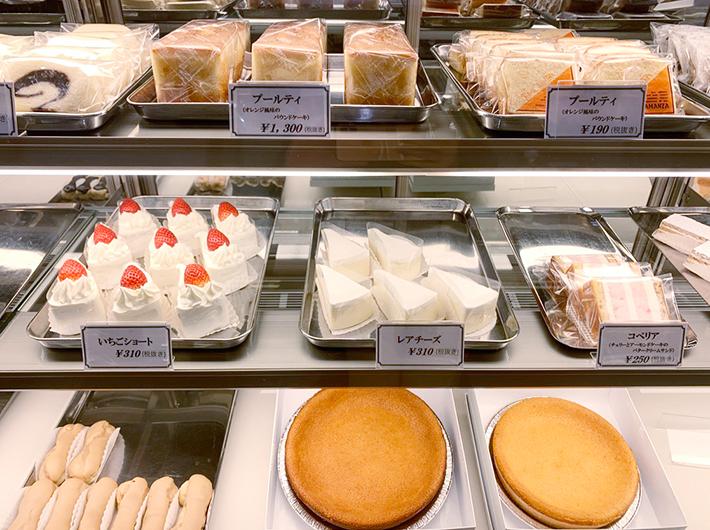 「見たままのシンプルな味を提供するのが甘座のケーキ」と、靖水さん
