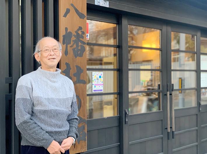 「八幡杜の館」運営委員長の北田一浩さん