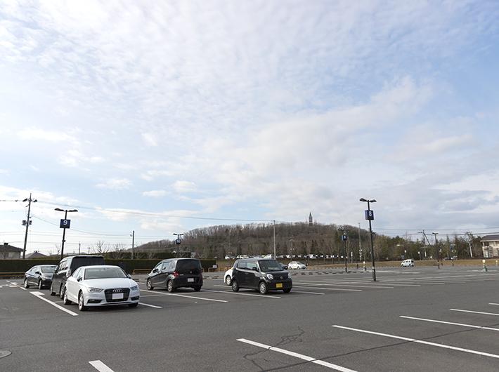 仙台泉プレミアム・アウトレットから一番近い駐車場「P3」