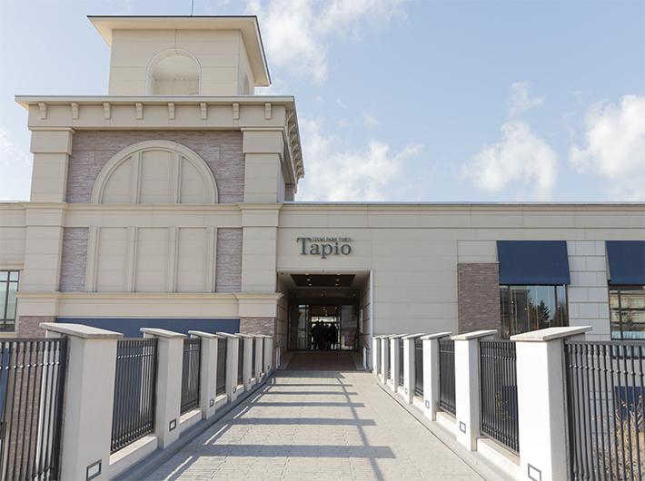 2階にはタピオとの連絡通路があります